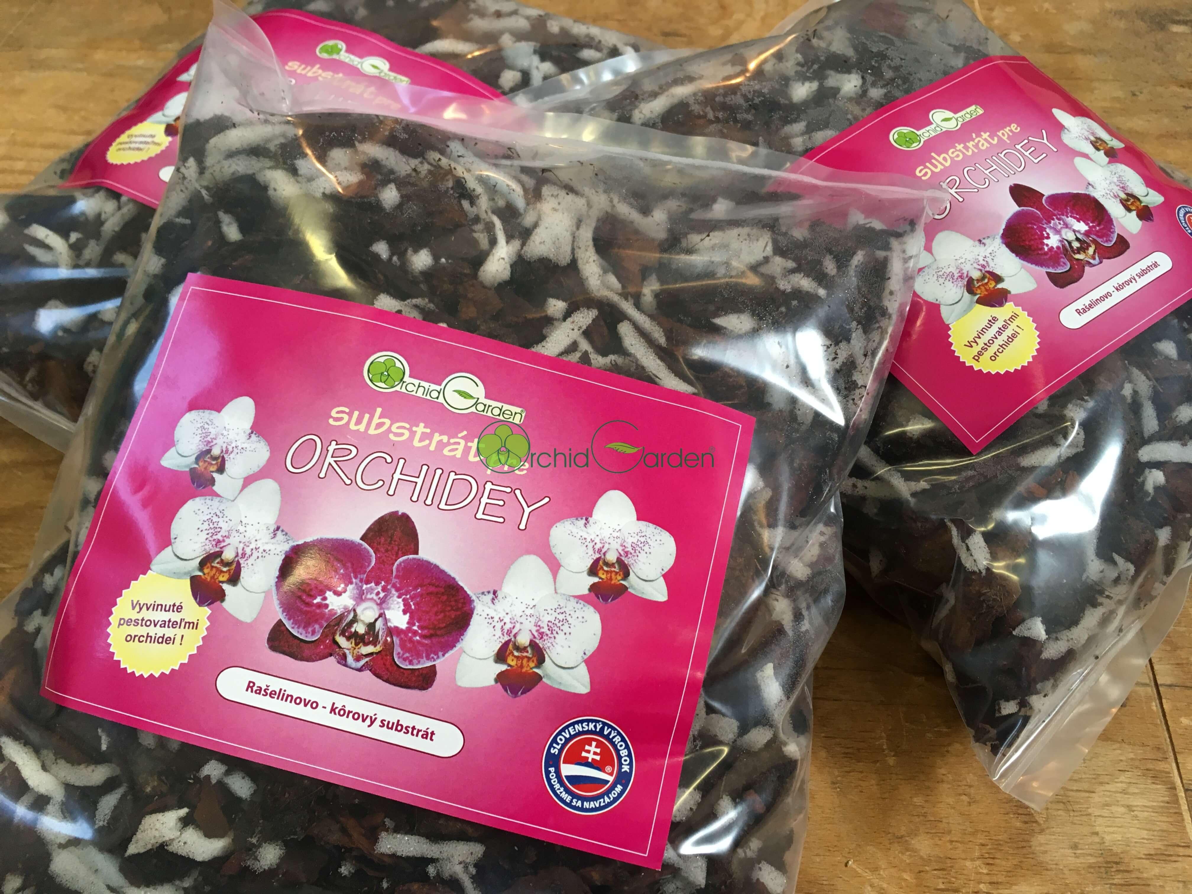 Substrát pre orchidey od Orchidgarden