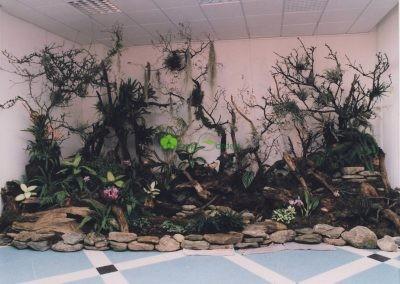 výstava s orchideami